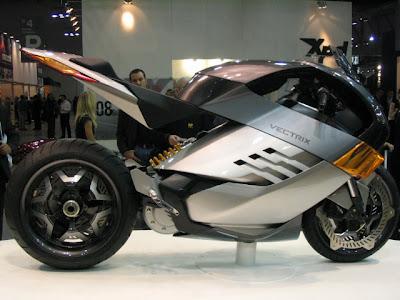 Vectrix The Future Super Bike Silver Edition1