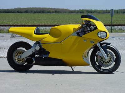 Super Bike Y2K Silver and Yellow Turbine2