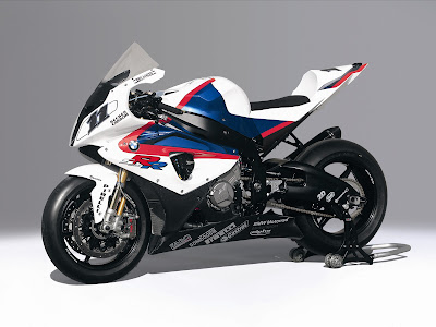 BMW S 1000 RR Race Bike White Editions