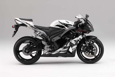New Honda CBR 600RR Grafitty Edition 2010 2