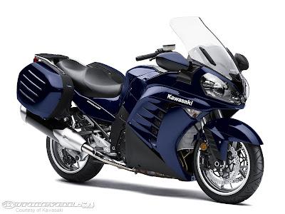 New Kawasaki Concours14 Black Sportbike 2010 1