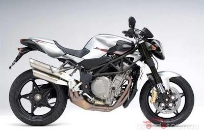 New MV Agusta Silver Muscular Bike
