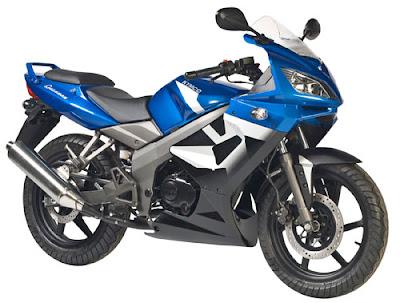 New Kymco Quannon 150 CC Blue Street Sport