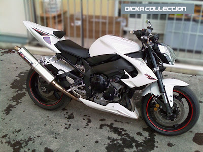 Yamaha R1 White Street Fighter Bodykit 4