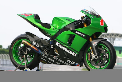 Kawasaki Ninja ZX RR 800CC Green MotoGP Style