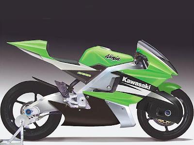 Kawasaki Ninja ZXZ Future Concept Bike