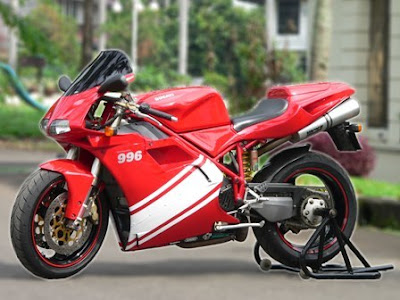New Ducati 996 Red Stoner Style