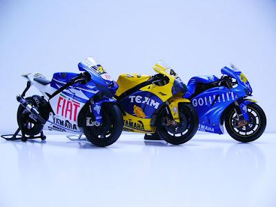 Yamaha M1 Rossi MotoGP Bike