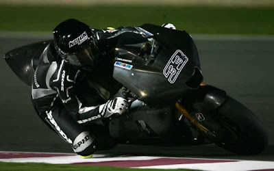 Hayate Racing Team Marco Melandi Black MotoGP 3