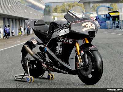 Hayate Racing Team Marco Melandi Black MotoGP 1