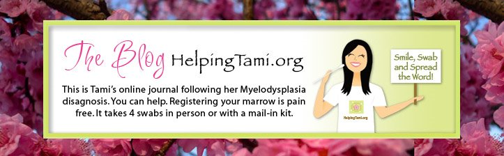 Helping Tami - How Registering your Bone Marrow Can Save a Life