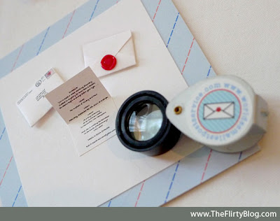 And the most unique product I saw was this teeny tiny wedding invitation