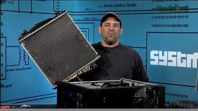Patrick Norton Systm Dodge radiator mod