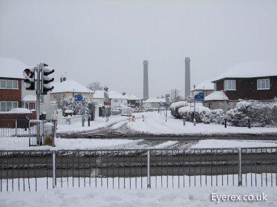 Croydon surrey snow
