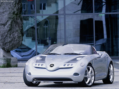 1991 Mercedes Benz C112 Concept. 2000 Mercedes-Benz Vision SLA