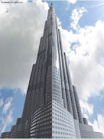 The Burj Dubai - The World's Tallest Building!