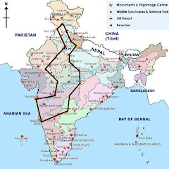 Route of Grand Tour of India