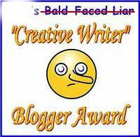 Creative Writing Blog Award