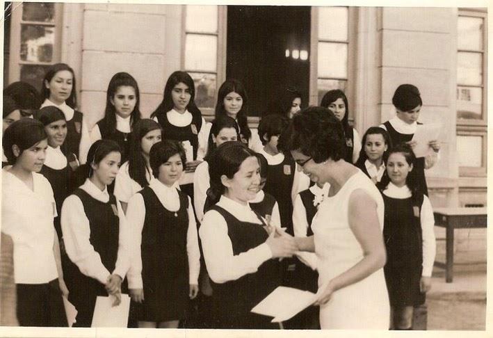 Gesto altruista promocion 1969 - Maria del carmen castro ...