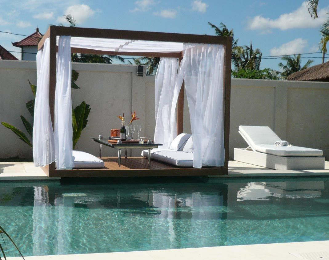Outdoor Cabana Gorgeous With Gazebo Canopy Outdoor Furniture Image