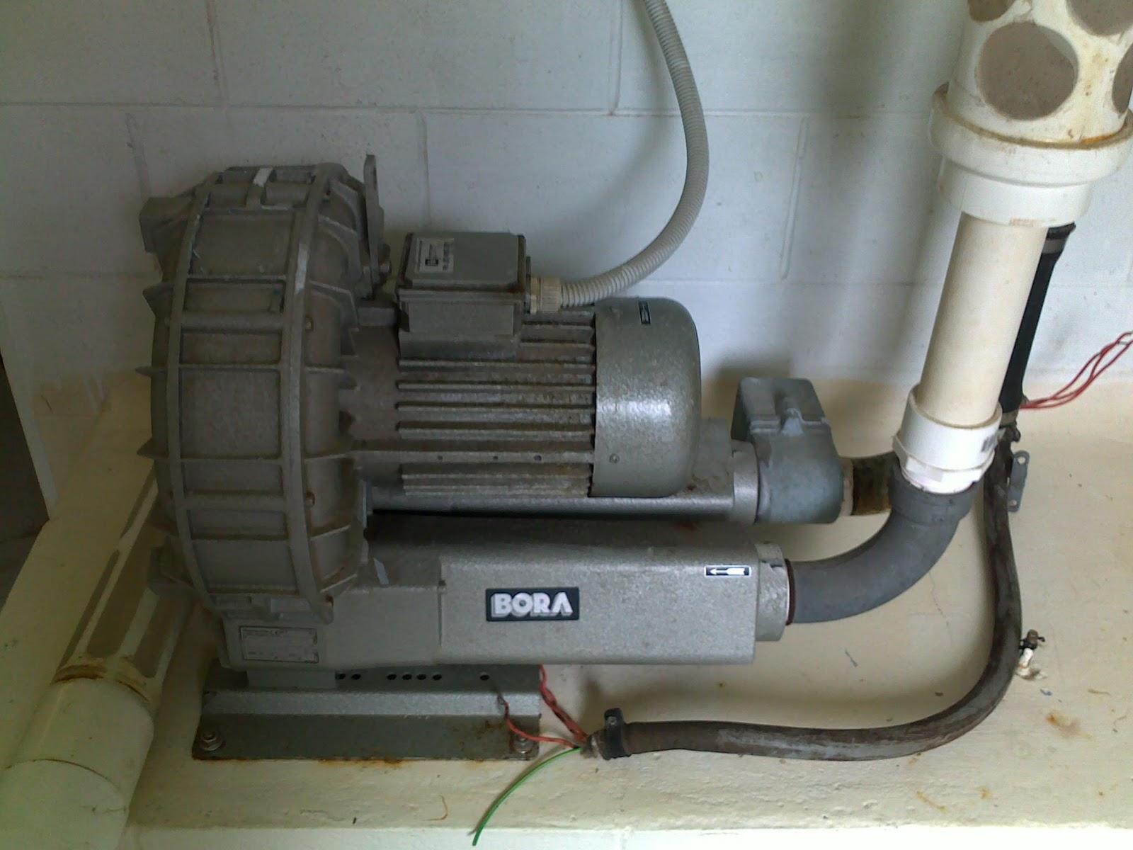 Figure 12 Bora (Sap 50) High Pressure Blower #594F38