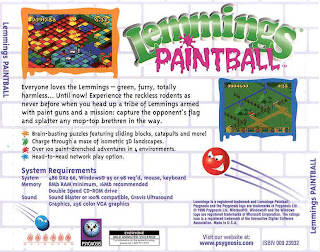 bonus pack contains lemmings oh no more lemmings lemmings paintball