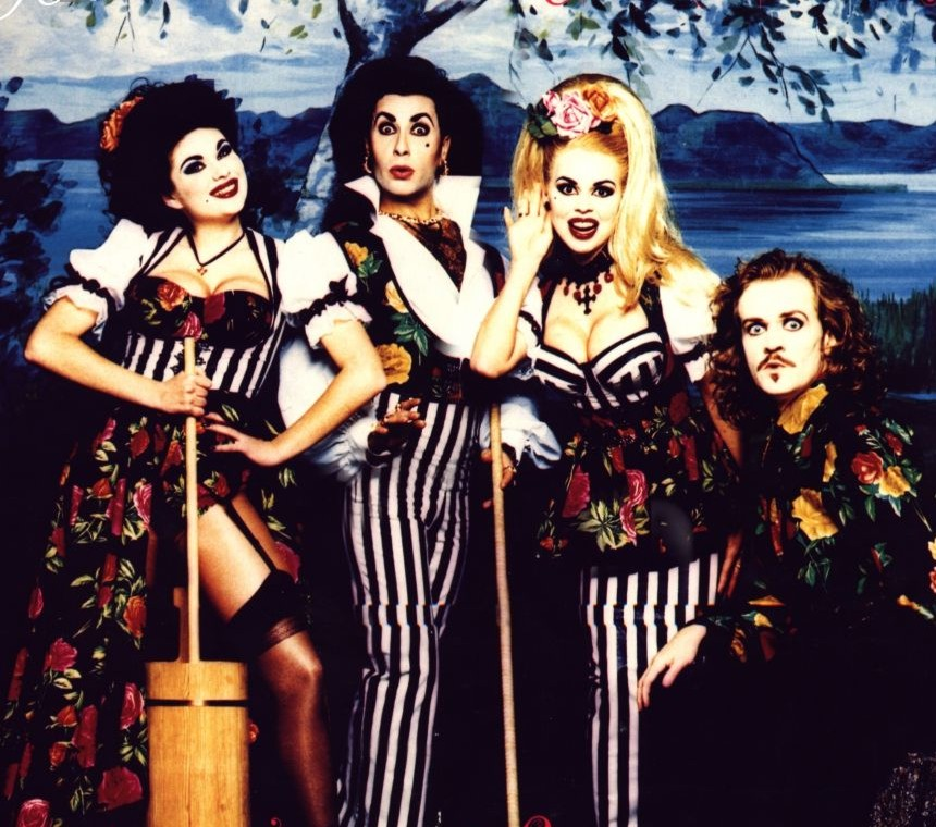 The ludicrous pop rococo by the one and only Army Of Lovers: