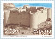 El castell filatelitzat