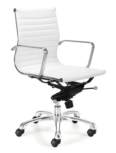 white ergonomic office chairs. chair form also affect work productivity. some pictures below are examples of the many office chairs fit for use under terms ergonomics. white ergonomic n