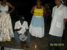 Membros do Terreiro Tupinambá...