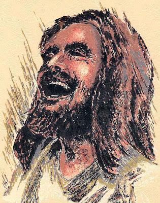 Laughing Jesus by Ralph Kozak