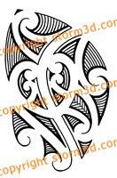 maori tattoos patterns design