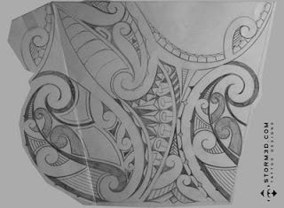 maori tattoo for the forearm