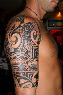 shoulder tattoo 143 storm3d.com polynesian style