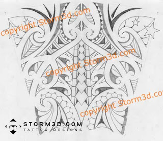 forearm tribal tattoo design in maori style sketch