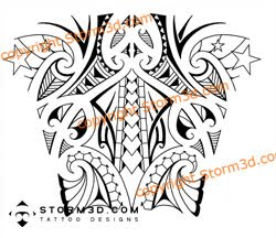 Tribal tattoo wrapping around the forearm | Que la historia me juzgue