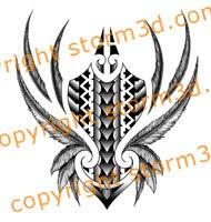maori shin tattoos