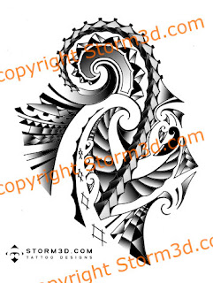maori shoulder sleeve tattoo samoan