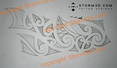 how to design a forearm tribal maori tattoo