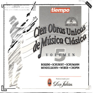 100 obras unicas musica clasica: