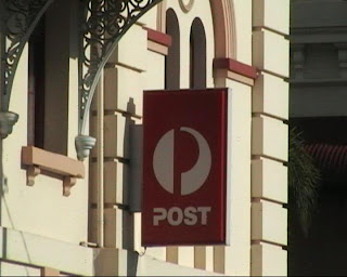 Maryborough Post Office Sign