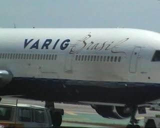 Varig Brasil on Los Angeles International Airport