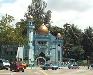 Blue Mosque, Malabar Muslim Jama-ath, Singapore