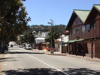 Street in Knysna, South Africa