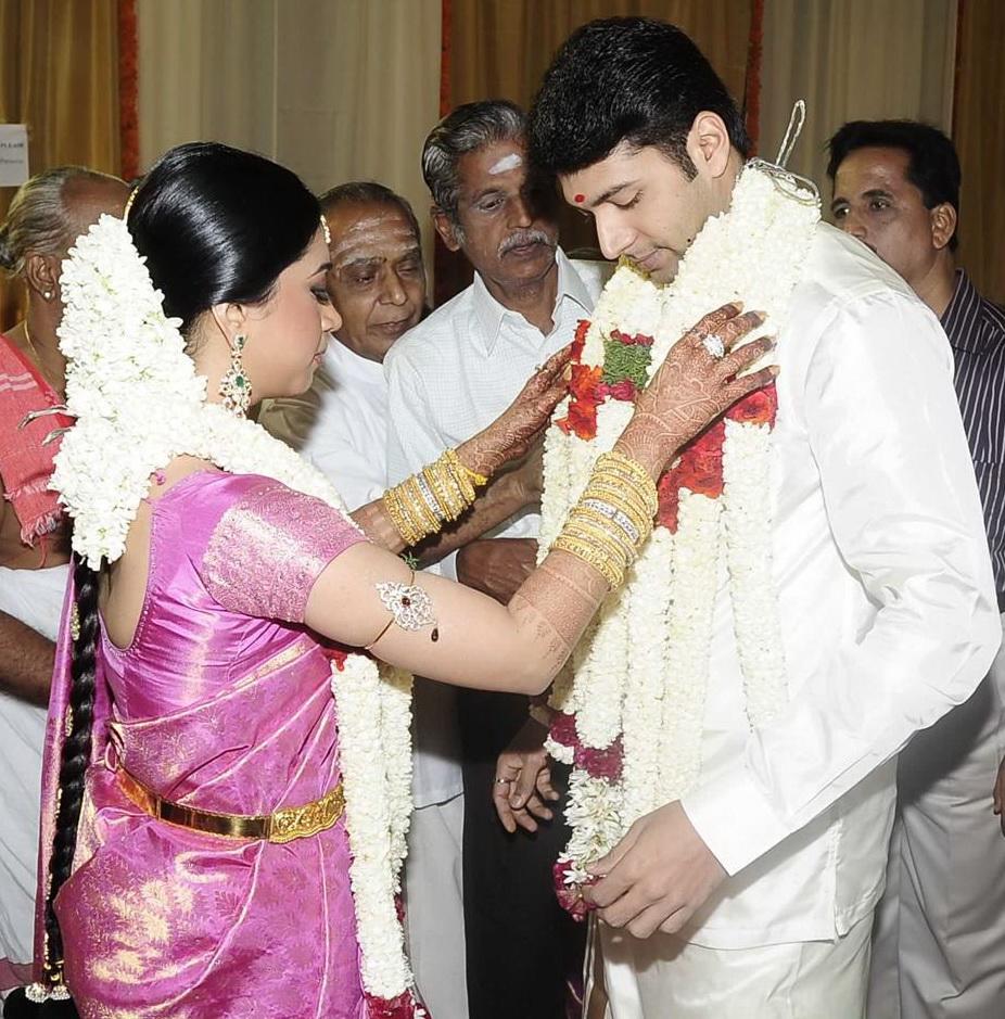 Jayam Ravis Marriage Photos Film