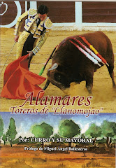 "POESIA TAURINA/       ALAMARES.     TOREROS DE ""LLANOMOJAO"""