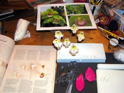 Orchideen gumpaste