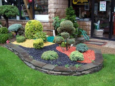 Home garden ideas stone garden ideas for Gravel garden designs