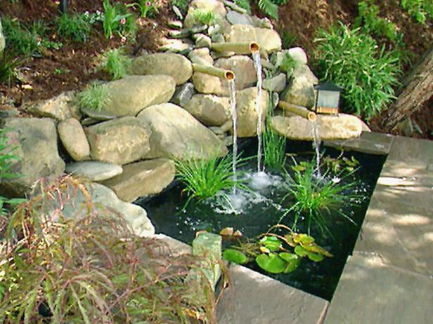 Home garden ideas garden water feature ideas Backyard water features