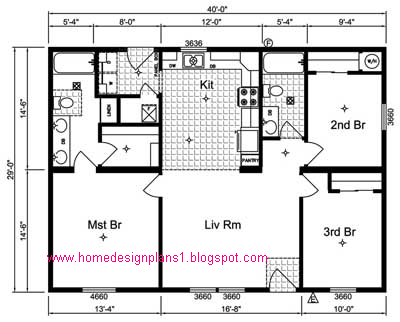 Western home floor plans home design and style for Western floor plans